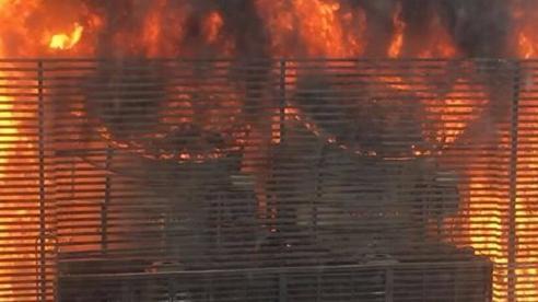 Cháy cực lớn hệ thống điều hoà chung cư, nhiều cư dân hoảng loạn bỏ chạy