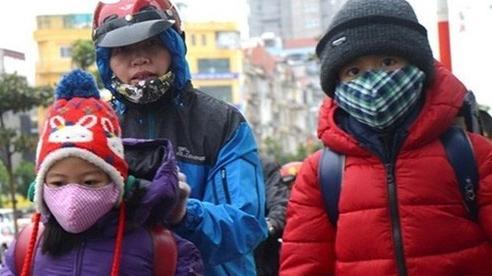 Chủ động cho học sinh nghỉ học khi trời rét đậm, rét hại