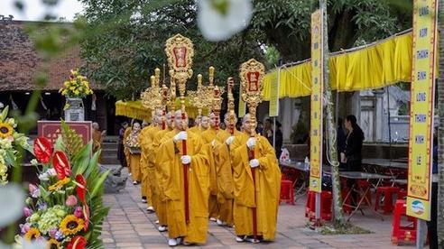 Cung rước và an vị tượng Phật Hoàng Trần Nhân Tông