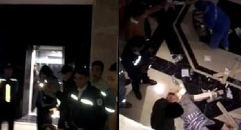 Bị thương nặng vì bước hụt từ thang máy chung cư