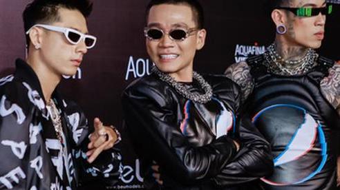 Dàn huấn luyện viên Rap Việt 'quậy' tung thảm đỏ Tuần lễ thời trang quốc tế 2020