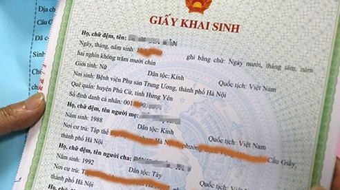 Hà Nội: Xác minh thông tin chứng minh quan hệ cha, mẹ, con trong thời hạn 20 ngày