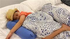 Cậu út nhà Đăng Khôi - Thủy Anh đi ngủ cũng đội mũ, tiết lộ bất ngờ từ hot mom khiến ai cũng phì cười