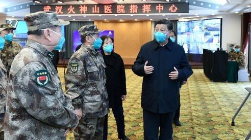 Quân đội Trung Quốc đứng ở tiền tuyến trong cuộc khủng hoảng virus corona