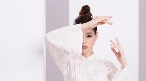 Khánh Vân tung ảnh áo dài trước khi thi Miss Universe, xứng danh hoa hậu mặc áo dài đẹp nhất!