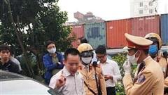 Hà Nội: Tài xế ô tô gây tai nạn trên đường Kim Mã sẽ bị phạt đến 40 triệu  đồng, tước GPLX 24 tháng