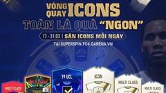 FIFA Online 4: Game thủ 'trốn dịch' háo hức với sự kiện 'săn ICONS miễn phí' mỗi ngày!