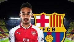Arsenal giận sôi máu vì Barca ve vãn Aubameyang