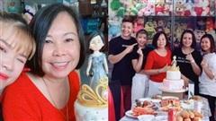Khởi My - Kelvin Khánh tổ chức sinh nhật 61 tuổi cho 'má Năm', tủ thú bông 'siêu to khổng lồ' đặc biệt gây chú ý!