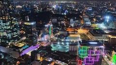 Lên nóc nhà ngắm Sài Gòn đẹp tĩnh lặng lúc về đêm