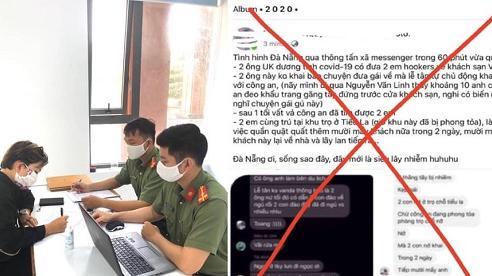 8X ở Đà Nẵng bị phạt 10 triệu đồng vì đăng tin sai sự thật về Covid-19