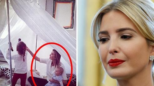 Tự nguyện làm việc ở nhà vì dịch Covid-19, 'nữ thần' Ivanka Trump chia sẻ tấm hình vui đùa cùng con nhỏ gây chú ý