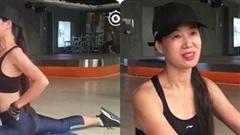 'Bà ngoại nóng bỏng nhất Trung Quốc' tập gym hàng ngày giữ nhan sắc