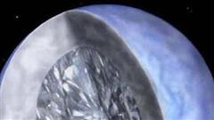 Cận cảnh ngôi sao kim cương khổng lồ hàng tỷ carat trong vũ trụ