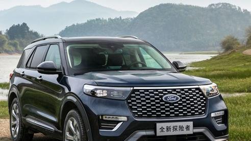 Ford Explorer bản Trung Quốc với thiết kế khác biệt, giá chỉ bằng nửa bản nhập
