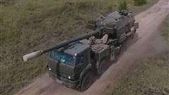 Nga sắp hoàn thành bản bánh lốp của pháo tự hành Koalitsiya-SV
