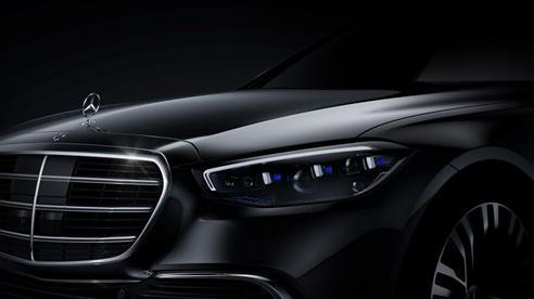 Mercedes-Benz S-Class 2021 lần đầu lộ diện: Hứa hẹn trở thành kỳ quan công nghệ mới