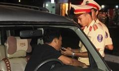 Vi phạm nồng độ cồn, 3 lái xe bị phạt 110 triệu đồng