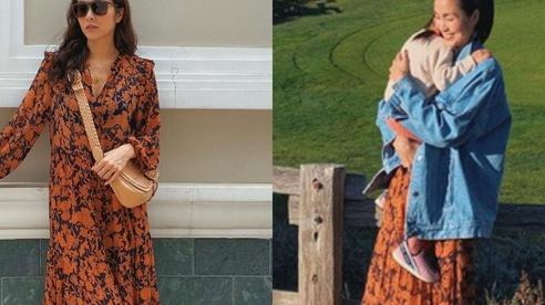 Hà Tăng diện lại váy cũ mà chẳng ai nhận ra, âu cũng bởi cô đã biến tấu quá tài tình