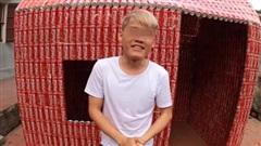 Thử thách xây nhà bằng 5.000 lon coca, con trai bà Tân Vlog khiến cộng đồng mạng ngán ngẩm 'Lại học ai đó'