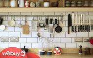 Cải tạo căn bếp nhỏ, đây là những món đồ chị em nhất định phải dùng để dù lắm đồ lỉnh kỉnh thế nào cũng vẫn 'đâu vào đấy'