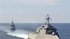 Hải quân Mỹ hé lộ cuộc tập trận mới nhất ở Biển Đông