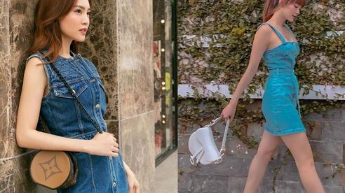 Minh Hằng và Lan Ngọc đều hack tuổi thần sầu nhờ váy denim, muốn mặc đẹp như họ nhưng không 'cưa sừng làm nghé' thì bạn hãy nhớ vài tips