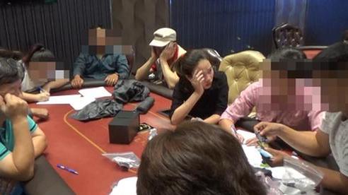 Triệt phá sòng bạc Poker 'khủng' do người đàn ông Hàn Quốc điều hành trong căn biệt thự tại Sài Gòn