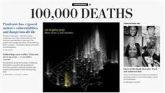Mỹ vượt mốc 100.000 tử vong do Covid-19