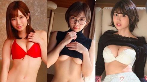 Bảng xếp hạng top 3 'hot girl' của làng phim người lớn Nhật Bản, bất ngờ khi gương mặt xinh nhất lại đứng cuối