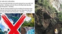 Chàng trai lần đầu tiết lộ nhiều sự thật ít biết về 'hố tử thần' cao nhất Việt Nam, khẳng định nhiều bài đăng trên MXH đưa thông tin sai lệch gây hiểu lầm