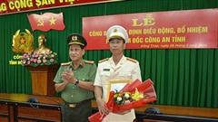 Trung tá Bùi Đức Tài làm Phó giám đốc Công an Đồng Tháp