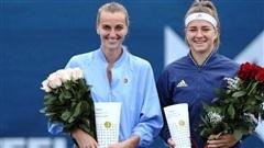 Petra Kvitova vô địch Giải quần vợt Praha