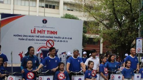 Bộ Y tế kêu gọi: Hãy bỏ thuốc lá ngay hôm nay, ngừng hút thuốc sớm giúp ngăn ngừa bệnh tật