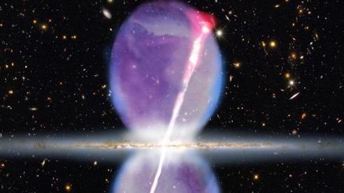 Bong bóng bí ẩn hiện ra giữa trung tâm dải Ngân hà cuối cùng cũng được 'giải mã'