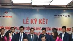 Lễ ký kết hợp tác chiến lược giữa Công ty chứng khoán Mirae Asset và Công ty Tài chính Cổ phần Điện lực
