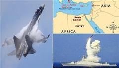 Nga mở rộng căn cứ Hmeymim-Tartous, vị thế độc bá Trung Đông