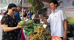 Tuần hàng trái cây, nông sản các tỉnh, thành phố tại Hà Nội năm 2020