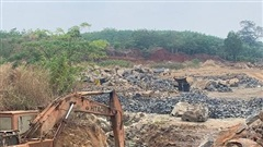 Gia Lai: Khai thác đá trái phép nhưng vẫn bị thu thuế