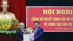Hai Bí thư Tỉnh ủy nhận nhiệm vụ mới