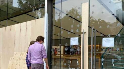 Apple tạm đóng nhiều Apple Store trước tình hình hỗn loạn tại Mỹ