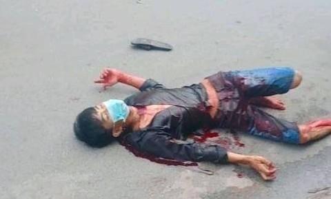 Điều tra vụ một thanh niên bị chém gục, người bê bết máu