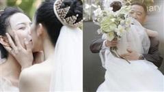 Đám cưới hot nhất Cbiz: Học trò 'Mai Siêu Phong' kết hôn với bạn gái đồng tính, ảnh cuối khiến ai cũng xúc động nhoà lệ