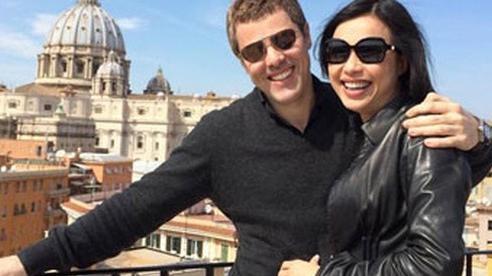 'Hoa hậu giàu nhất Việt Nam' Ngô Mỹ Uyên lần đầu tiết lộ cuộc sống với ông xã người Ý