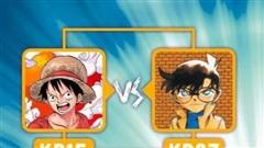 One Piece đua 'song mã' với Thám tử lừng danh Conan trong cuộc thi bình chọn manga được yêu thích nhất 2020