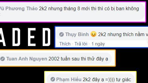 Truyền thống  'bug màu 2k2' để giúp các 'cháu' ôn thi chính thức bắt đầu, hàng loạt đồng chí 'bay màu: chỉ sau 1 đêm, không kịp chào hỏi
