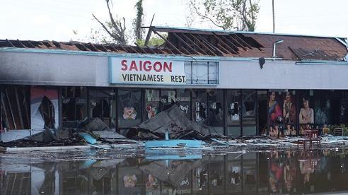Nhà hàng Việt bị thiêu rụi giữa làn sóng biểu tình ở Mỹ
