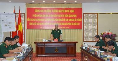 Chuẩn bị tốt nhất cho Giao lưu hữu nghị Quốc phòng biên giới Việt Nam - Campuchia