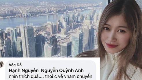 Nhìn Quỳnh Anh được chồng chiều, bạn gái giàu sụ của hậu vệ CLB Hà Nội cũng háo hức muốn bầu theo