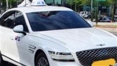 Mới ra mắt không lâu, Genesis G80 2020 đã bị lấy làm taxi tại Hàn Quốc
